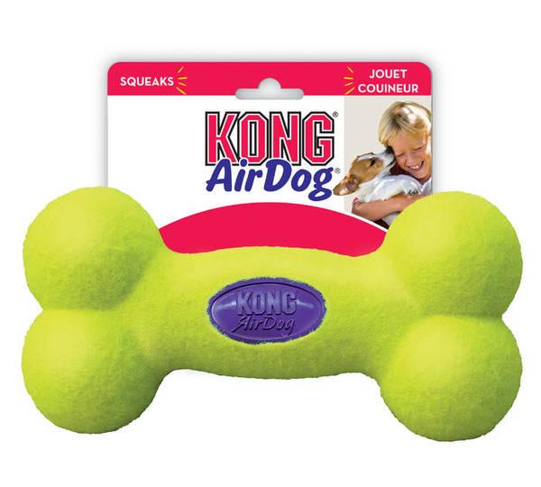 KONG AIR SQUEAKER BONE - Medium - rotallieta kaulinš videjiem suniem