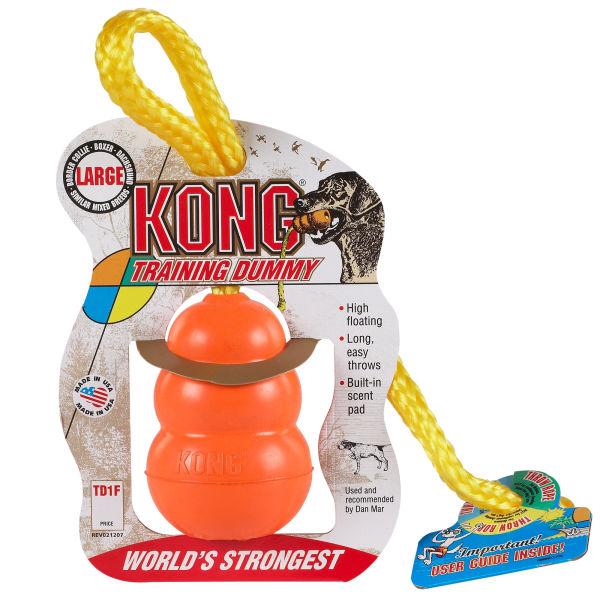KONG TRAINING DUMMY - Large - rotaļlieta  ar auklu lieliem suņiem