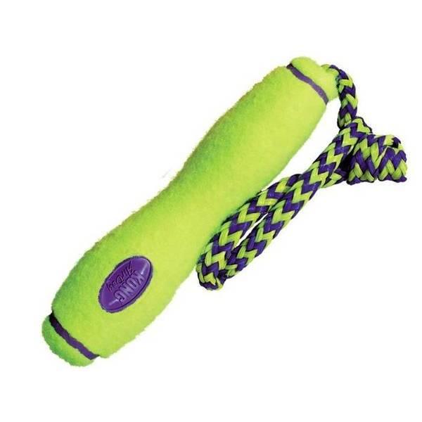 KONG AIR KONG FETCH STICK - Medium - rotaļlieta ar auklu videjiem suņi