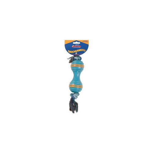 Rotaļlieta suņiem Bumba ar virvi 21cm