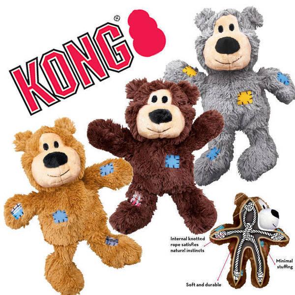 KONG Wild Knots Bears Medium/Large