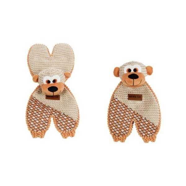 Rotaļlieta suņiem FUNKY GORILLA 19 x 43 cm ar pīkstuli