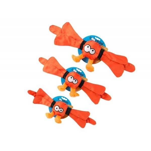 Rotaļlieta suņiem COOCKOO THUNDER 10 x 55 cm oranža