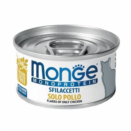 Monge Flakes Monoproteinic cat Chicken 80gr - konservi kaķiem