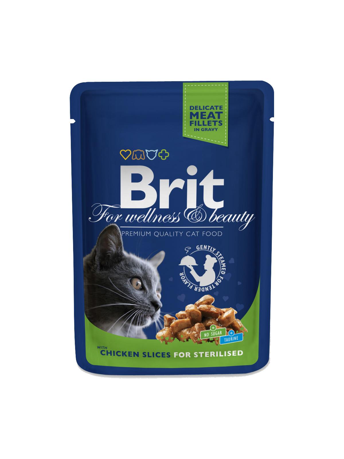 Brit Premium Chicken Slices Sterilised 100 g
