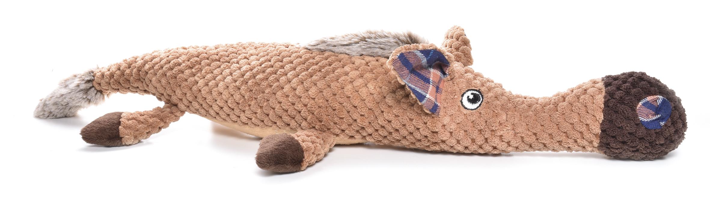 Rotaļlieta suņiem ar pīkstuli Horse 50,8cm
