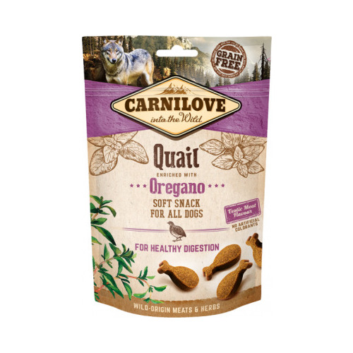CARNILOVE Dog snack Quail with Oregano 200 g
