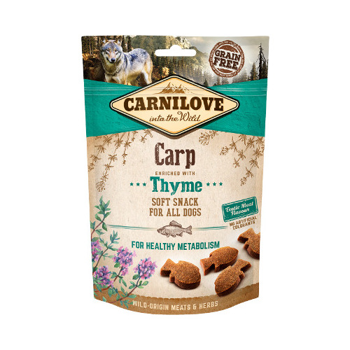 CARNILOVE Dog snack Carp with Thyme 200 g