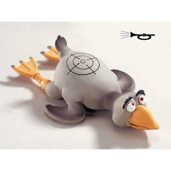 """Rotaļlieta suņiem zoss """"SHOOT ME"""" S 250mm"""